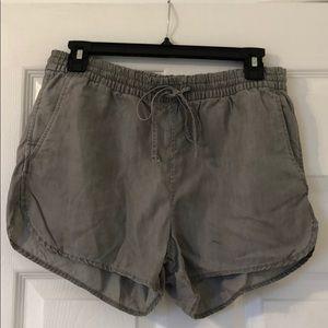 Gray Gap Shorts
